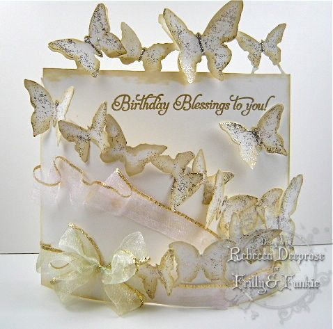 Birthday Card - Essential products for this project can be found on Crafting.co.uk - for all your crafting needs. - Bendi Butterflies by rebeccadeeprose - Cards and Paper Crafts at Splitcoaststampers
