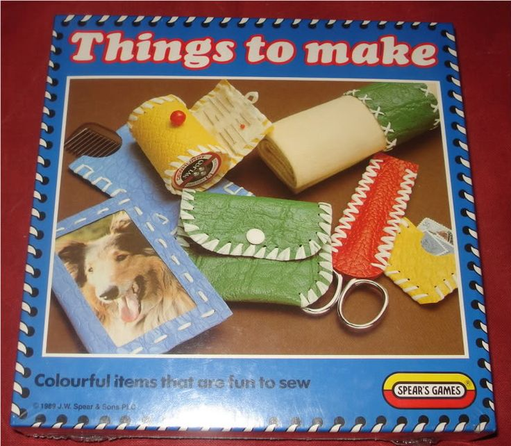 Arts and Craft toys - spearmint games . I had this !!