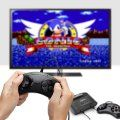 Sega Genesis Classic Game Console with 81 Classic Games Built-in and Two Wired Controllers