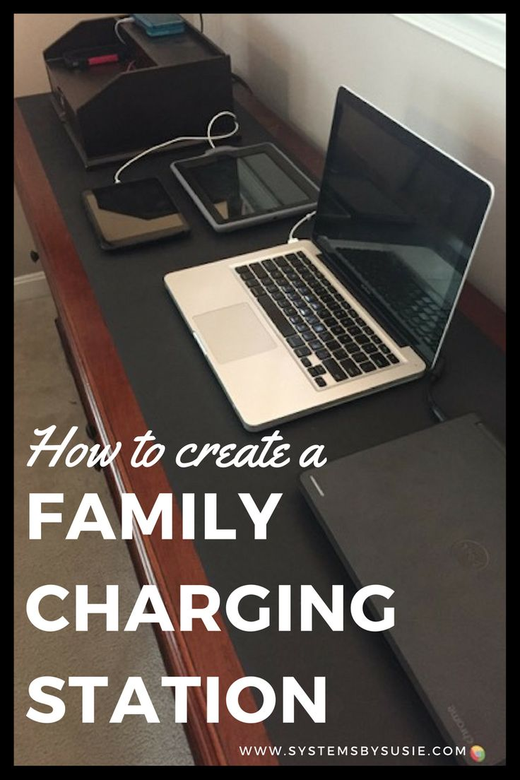 17 Best Family Electronic Charging Station Images On
