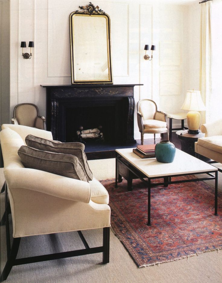 Mark d sikes chic people glamorous places stylish for Mark d sikes living room