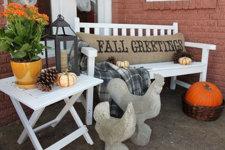 Opulent Cottage: Fall Greetings, Burlap Fall, Fall Decor, Fall Pillows, Burlap Pillows, Fall Porch, Opulent Cottage, Decorating