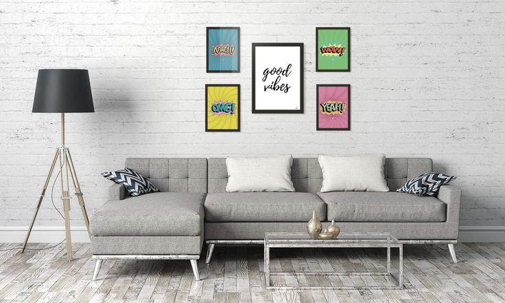#quadros #decor #decoracao #dicasdecoracao #casa #apartamento #popart