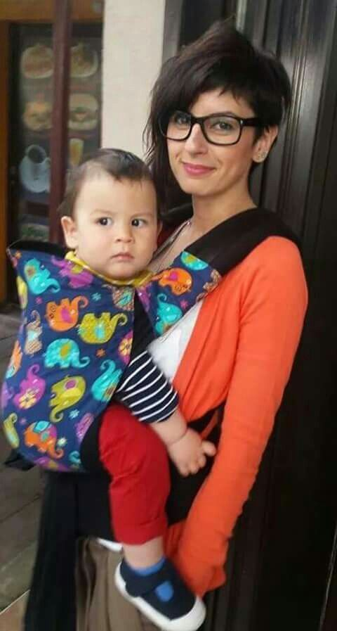 Soft tai... confortable and colorfull ♡babywearing