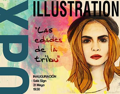 Illustration Project Exhibition #illustration #creativity #graphicdesign #freelance #design #illustrator #design #poster