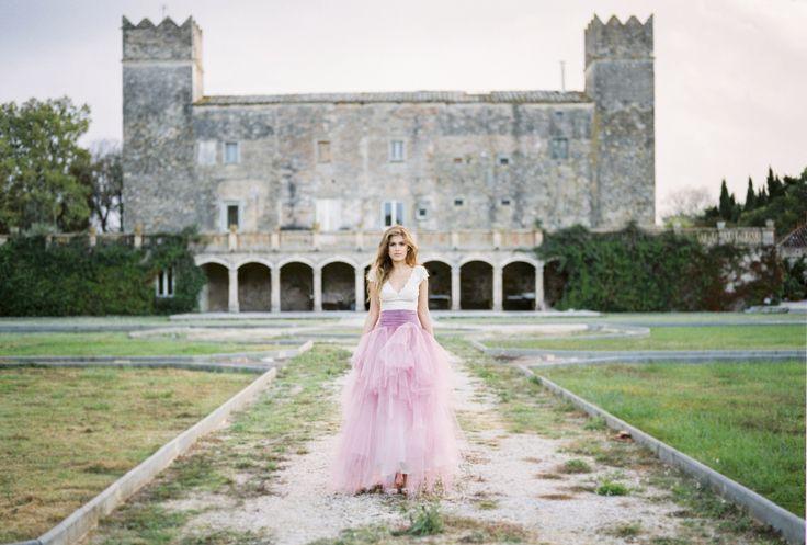 Photography: MIREIA CORDOMÍ - http://www.stylemepretty.com/portfolio/mireia-cordomi   Read More on SMP: http://www.stylemepretty.com/destination-weddings/2014/12/11/romantic-pink-navidad-wedding-inspiration/
