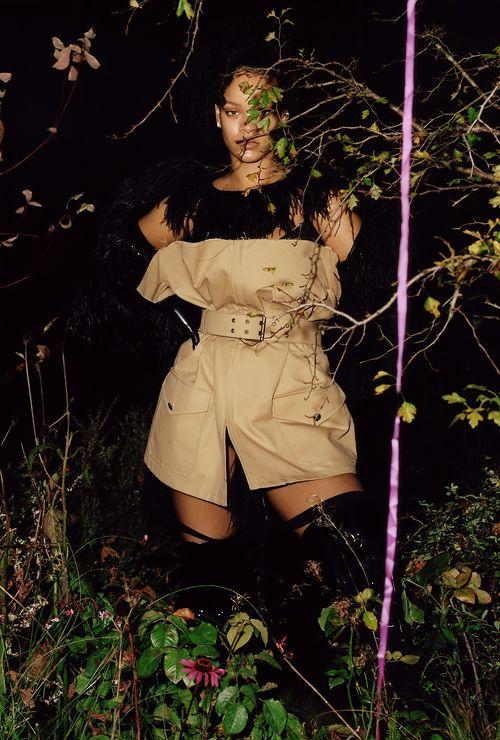Rihanna for the Dazed Magazine December 2017 Issue