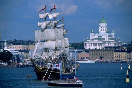 Almost vintage stuff from Tall Ships Races 2000, in Helsinki. Photo: City of…