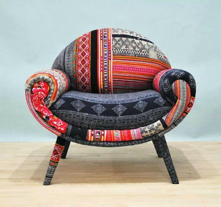 60 beste afbeeldingen van stoelen bekleden fauteuils for Stof om stoel te bekleden