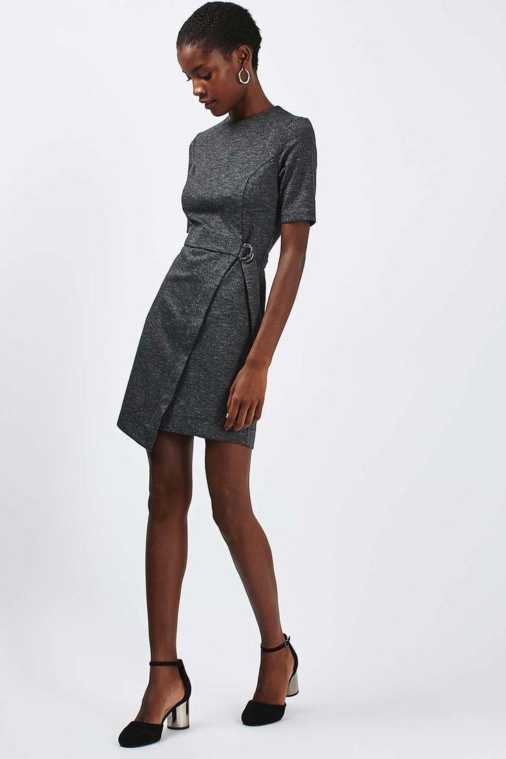 Wrap Skirt Mini Dress