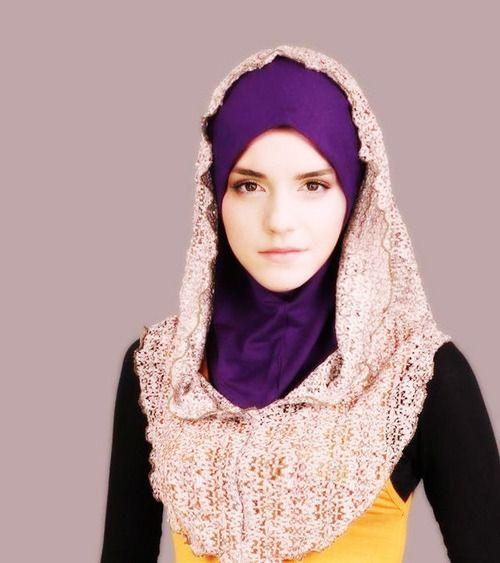 Looks pretty good with a Hijab