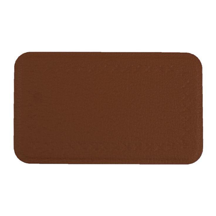 Este parche rectangular de tamaño medio tiene un diseño de punto alrededor del borde, el cual funciona bien en sofás, sillas y taburetes. Este diseño también está disponible en nuestro parche de cuero grande. #diy #reparacuero #reparapiel #parches #muebles #cuero #reparacion