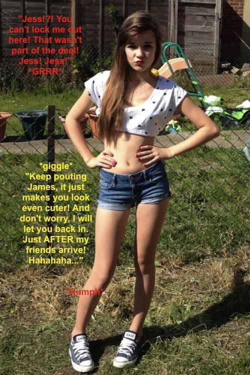 Teen sissy humiliation captions