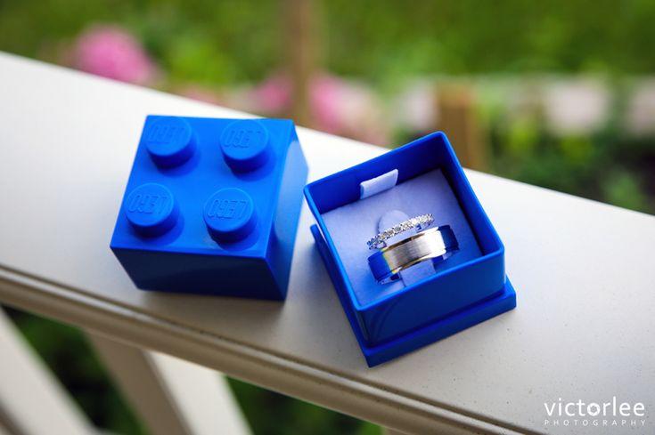 Wedding Details - Lego Wedding Ring Box