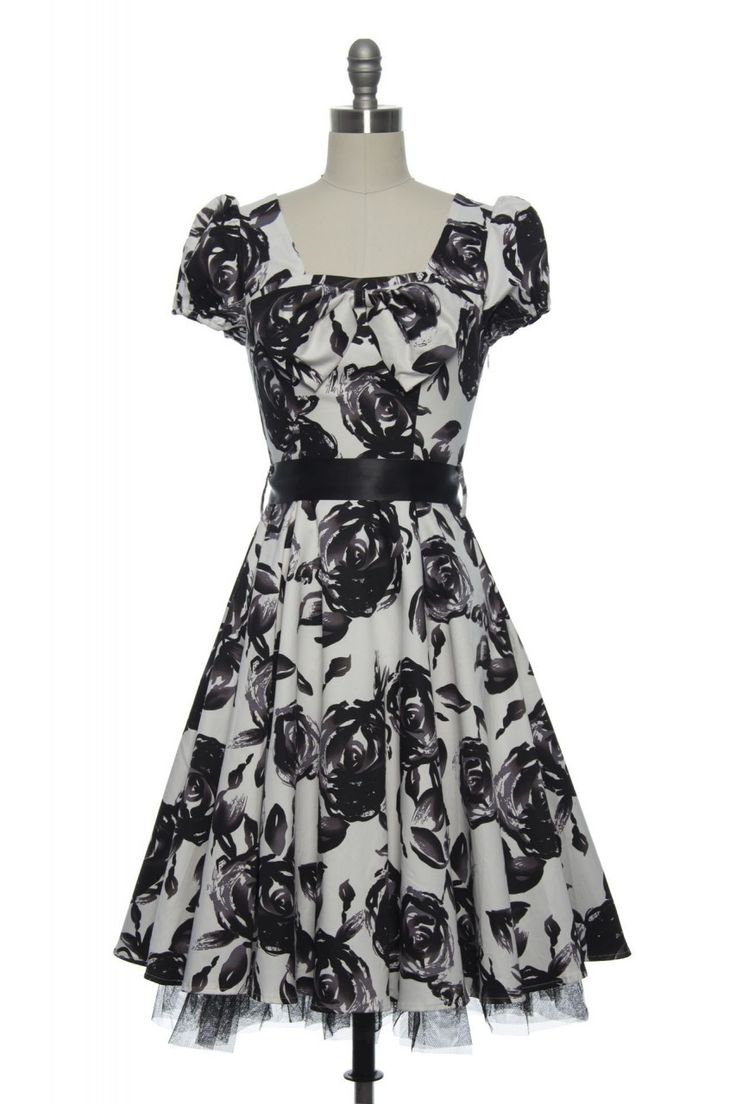 Midnight Tea Party Dress | Vintage, Retro, Indie Style Dresses