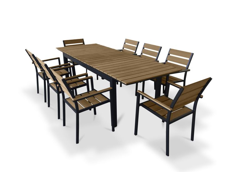 Youu0027ll Love The 9 Piece Extendable Outdoor Dining Set At AllModern   With  Great