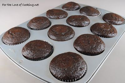 For the Love of Cooking » Super Moist Chocolate Cupcakes with Vanilla Buttercream Frosting