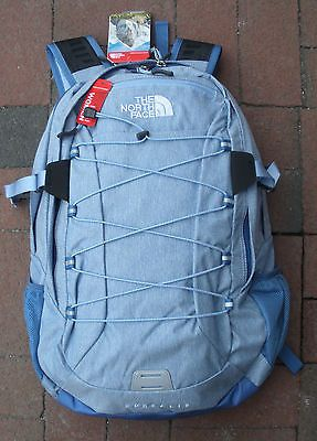 THE NORTH FACE WOMENS BOREALIS BACKPACK- DAYPACK- # CE86 -VINTAGE BLUE HEATHER | Sporting Goods, Outdoor Sports, Camping & Hiking | eBay!