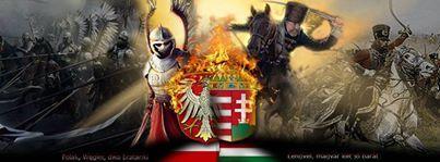Patriot Graphic from Hungary Polish/ Hungary Brotherhood Thank YOU!!! Lengyel Magyar két jó barát Szeretünk és ne feledd