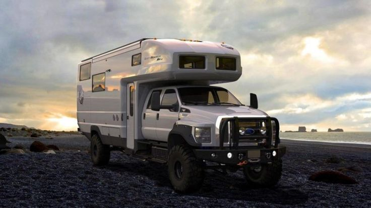 The EarthRoamer XV-HD #design #transport #automotive #camper #camping #industrialdesign #transportdesign