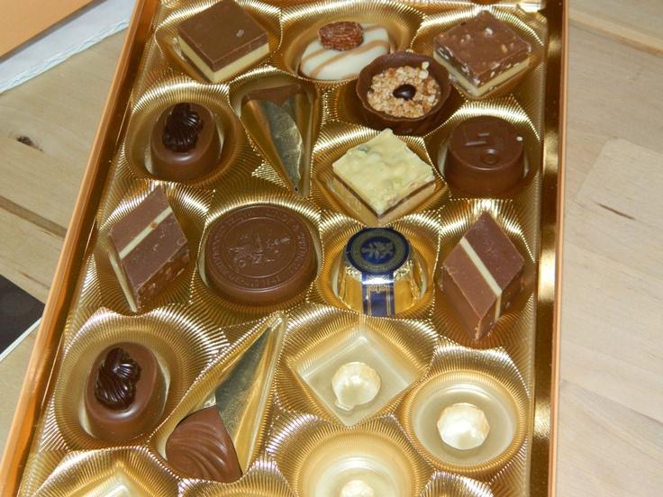 Chocolates Alemanes Lindt - German chocolates from Lindt