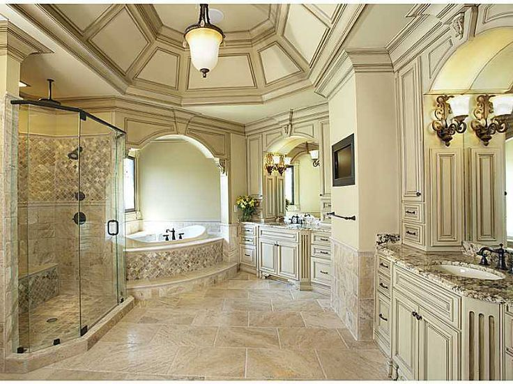 12 Luxurious Bathroom Design Ideas: 17 Best Images About Interior Design: Old World