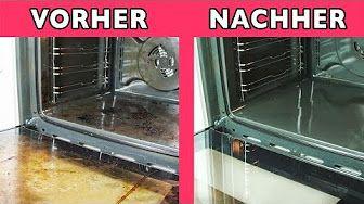 Backofen glänzt wie neu ! reinigen mit Kaiser Natron - Oven Shines Like New! with emperor soda - YouTube