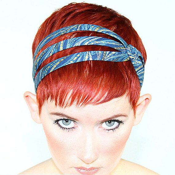 Hey, I found this really awesome Etsy listing at https://www.etsy.com/listing/162530583/short-hair-headbands-blue-headband