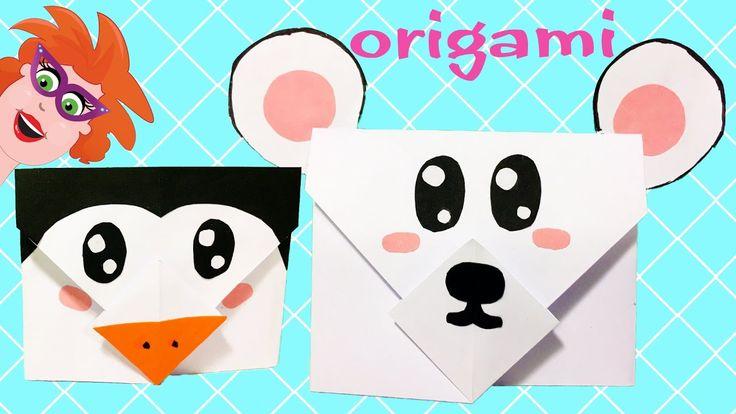 Origami enveloppen maken van papier