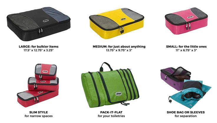Travel Essential: eBags Packing Cubes for Better Packing: