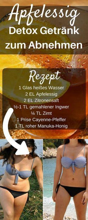 Mit Apfelessig abnehmen ist sehr effektiv. Apfelessig beschleunigt deinen Stoffw
