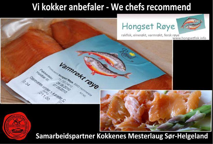 http://www.hongsetfisk.info/ Vår lokale produsent på Røye på Sør-Helgeland. Fersk fisk, varmrøkt røye , kaldrøkt røye og raket røye. Topp kvalitet og nydelige smaker