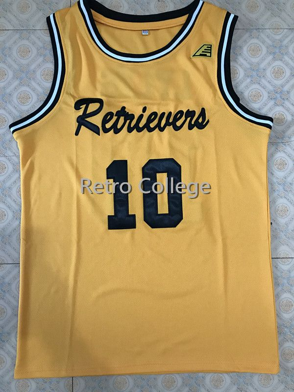finest selection abfc1 2dcd0 UMBC Retrievers 10 Jairus Lyles Retro college throwback ...