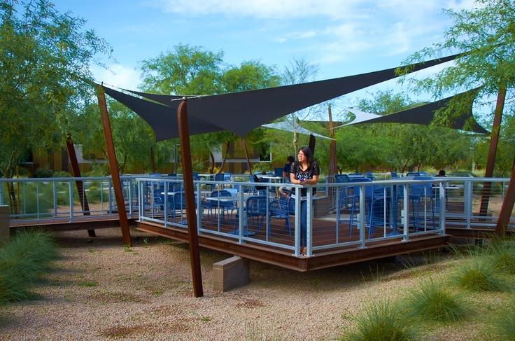 Beautiful scenery at Scottsdale Community College.