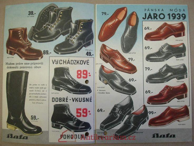 Katalog Baťa Novinky JARO 1939, 1939