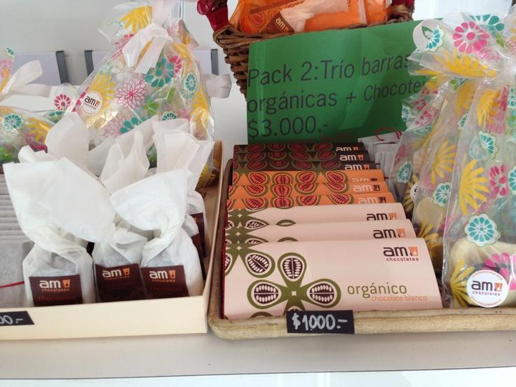 Variedad Chocolates Orgánicos