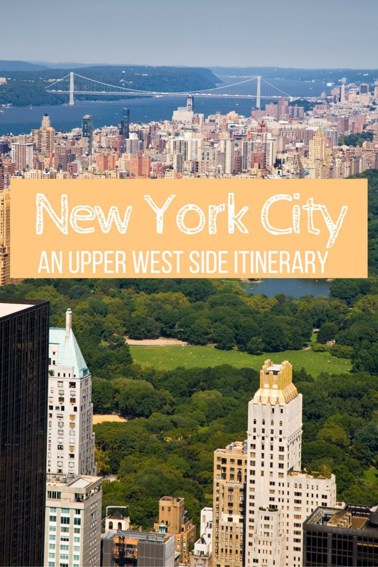 If you are looking for a NYC neighborhood to explore - look no further than the Upper West Side. This laid back, family friendly neighborhood has something for everyone.   Follow this one day itinerary for incredible food and classic sites!