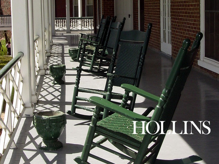 Hollins Rocking Chairs: Home away from home....  Hollins University ...