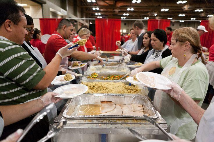 List of 2014 Thanksgiving Volunteer Opportunities