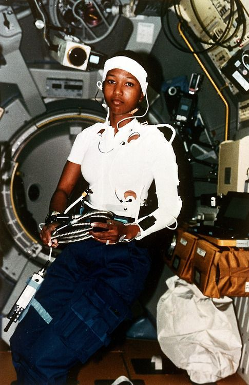 Mae Jemison, the 1st black woman to fly in Space, 1992