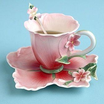 Hibiscus Teacups