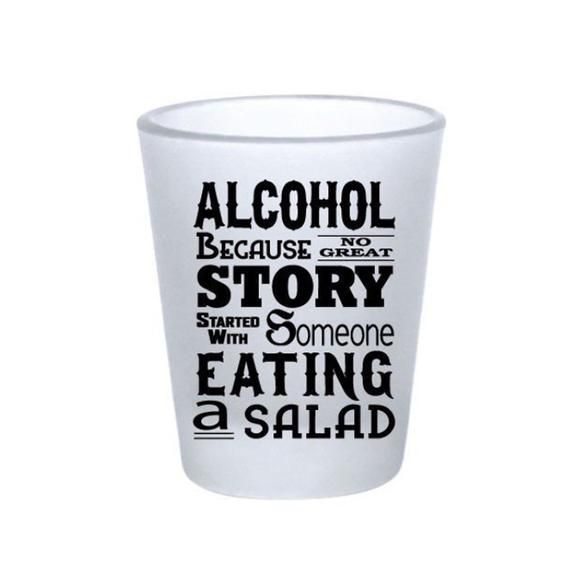 Frosted Shot Glass Set Of 6 Alcohol Funny Saying Etsy Funny Shot Glasses Shot Glass Set Glass Set