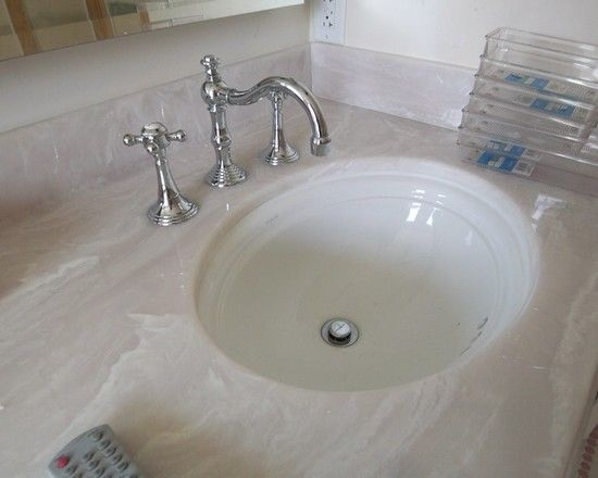 1000 ideas about cultured marble shower on pinterest - Faux marble bathroom countertops ...