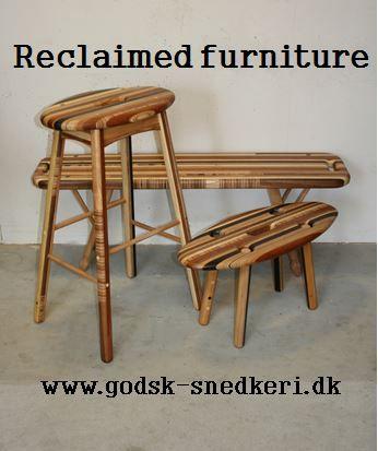 Reclaimed furniture. Made by Martin Godsk