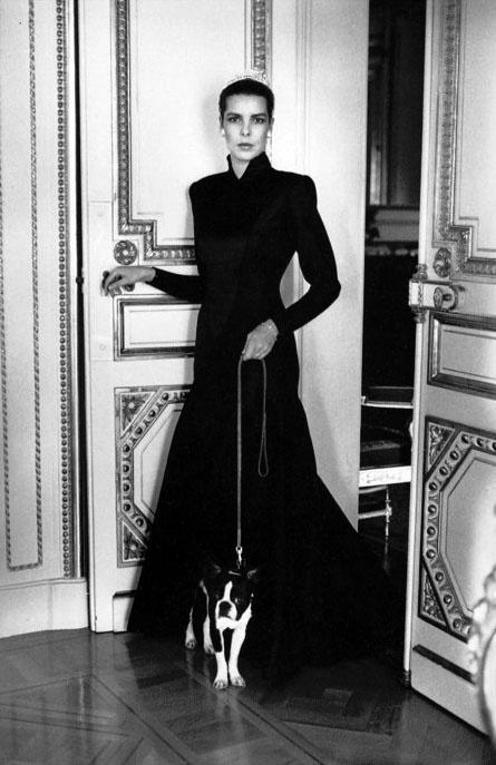 Princess Caroline de Monaco by H.Newton