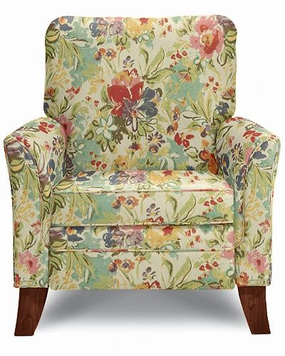 Patterned Recliner Chair