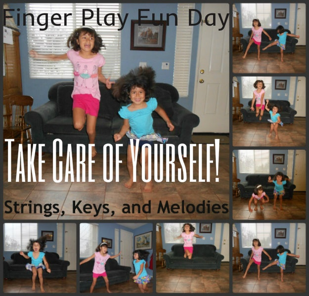 "Finger Play Fun Day - ""Take Care of Yourself"" - song inspired by the athletes in the Olympics"