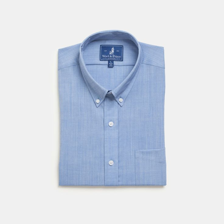 The merino wool blue oxford shirt that made us famous—featured in over 150 publications around the world. Wool is wrinkle- and odor-resistant while being 6x more durable