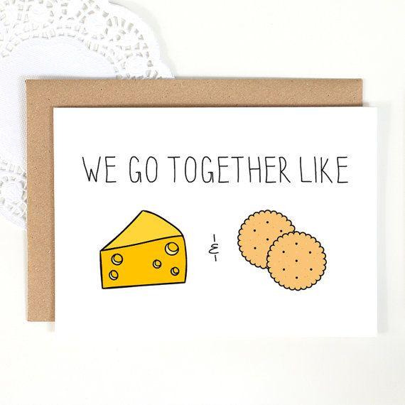 Nous allons ensemble comme fromage et craquelins par LochnessStudio