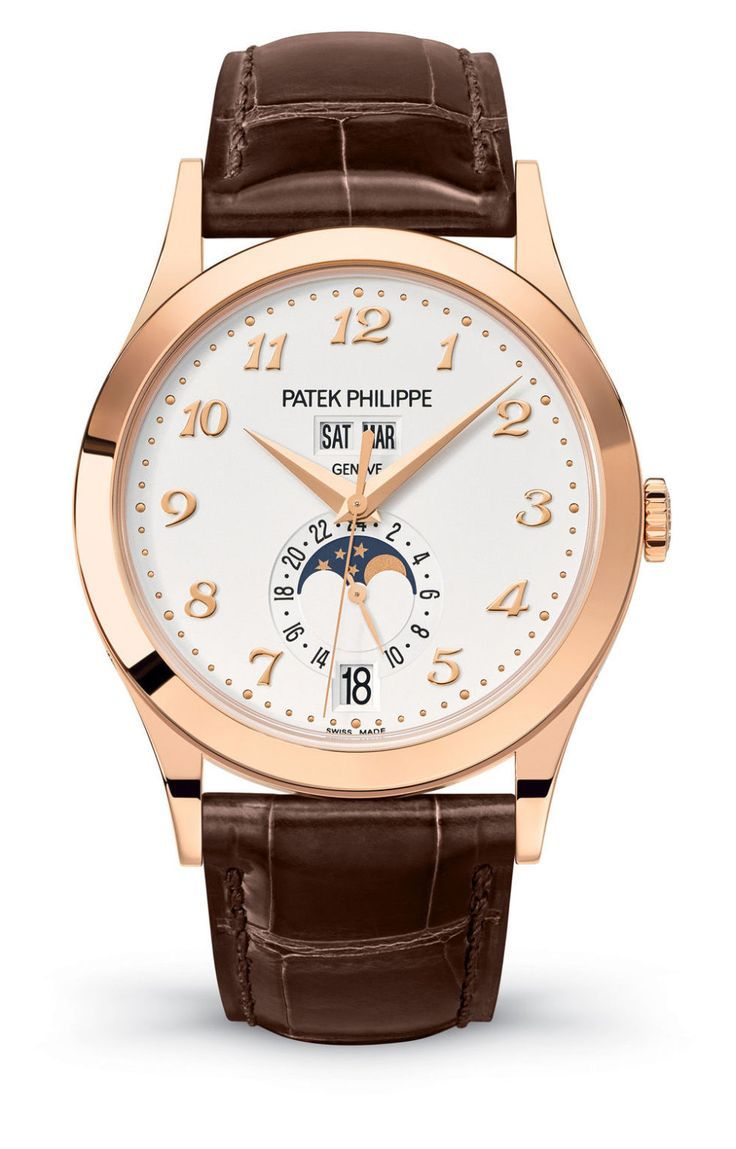 10 Of The Best Mens Gold Watches, Patek Philippe